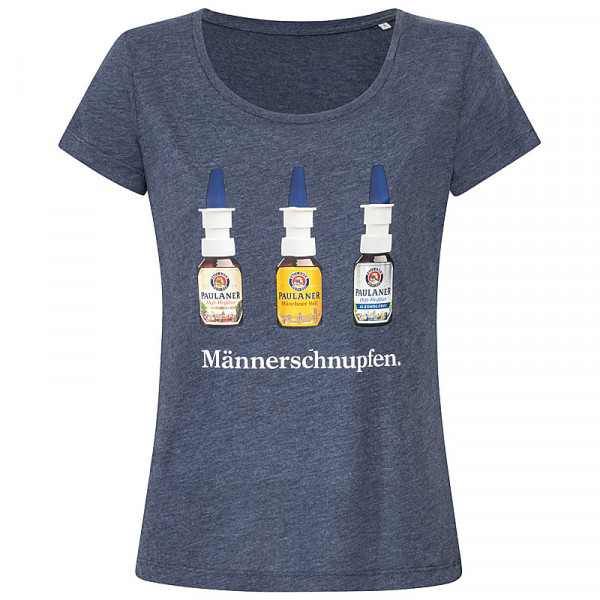 """Paulaner T-Shirt """"Männerschnupfen"""" Damen"""