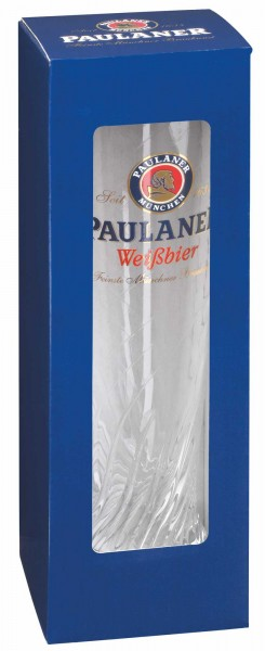 "Paulaner Präsentpackung ""Weißbier-Glas"""