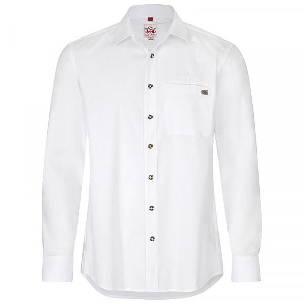 Paulaner Trachtenhemd Weiß
