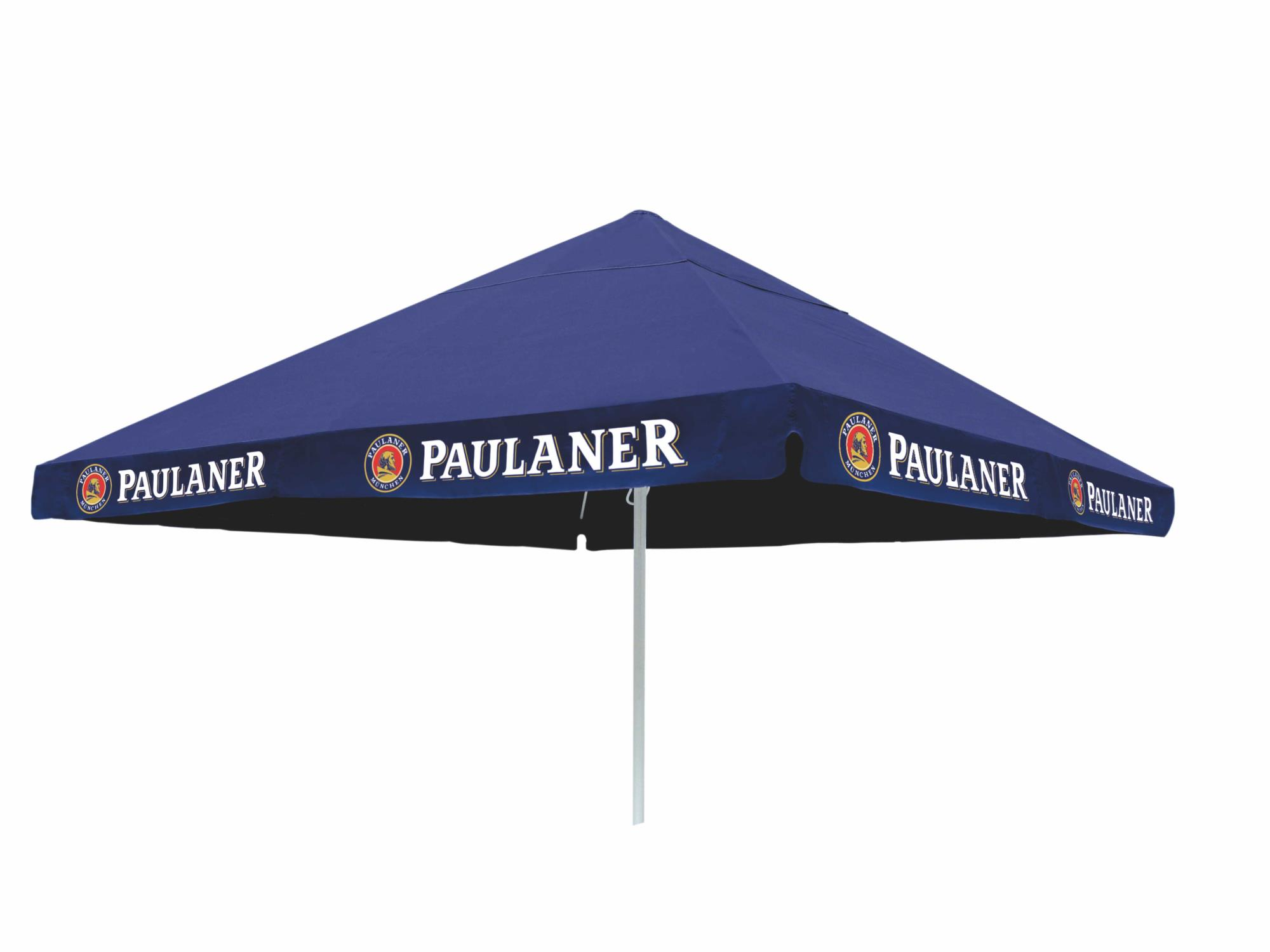 paulaner sonnenschirm 4x4m biergarten paulaner fan shop. Black Bedroom Furniture Sets. Home Design Ideas