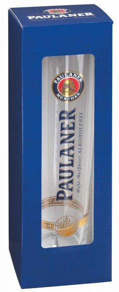 "Paulaner Präsentpackung ""Weißbier-Glas Alkoholfrei"""