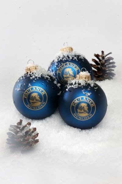 Christmas Tree Balls.Paulaner Christmas Tree Balls 3stk